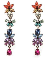 Oasis - Rainbow Crystal Earrings - Lyst