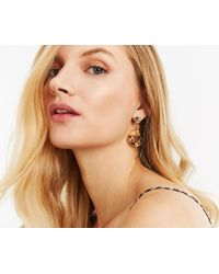 Oasis - Geo Resin Earrings - Lyst