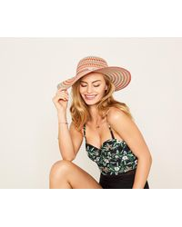 Oasis - Colourful Floppy Hat - Lyst