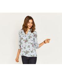 Oasis | Zaina Floral Shirt | Lyst
