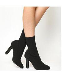 Office - Appleton- High Cut Sock Boot - Lyst