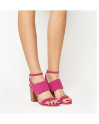 Office - Time 3 Strap Block Heel Sandal - Lyst