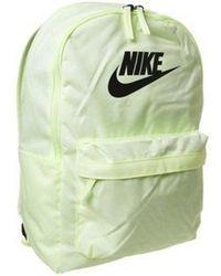 67332063e Nike Pink Heritage Floral Logo Backpack in Pink - Lyst
