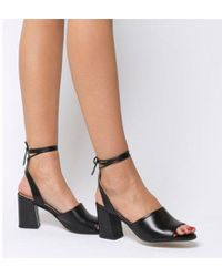 Office - Miffy Tie Block Sandal - Lyst