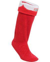 HUNTER - Moustache Boots Sock - Lyst