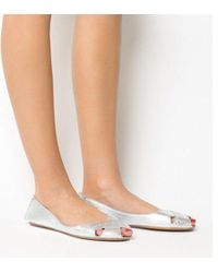 Office - Face To Face Peep Toe Shoe - Lyst