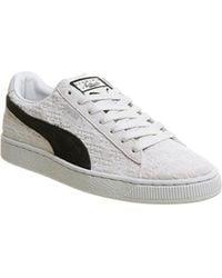 967b55468f6e Puma Suede Classic in Gray for Men - Lyst