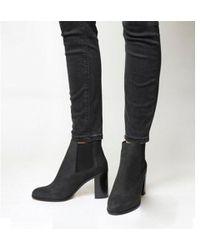 8cdcdeadd25 Lyst - Office Lolz Chunky Sock Boots in Black