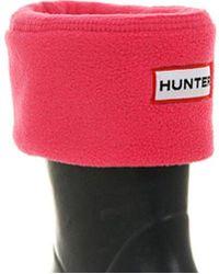 HUNTER Welly Socks - Pink