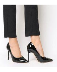 a2e86b16688f3f Sam Edelman Women s Hayden Suede Studded Court Shoes in Black - Lyst