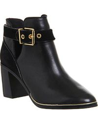 Ted Baker - Nissie Leather Boots - Lyst