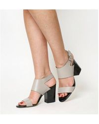 Office - Quarrier 2 Part Block Heels - Lyst