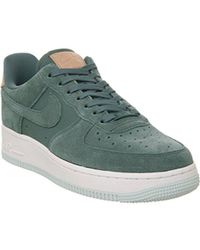 e94479a7f96f29 Lyst - Nike Air Force 1 Suede Sneakers in Gray