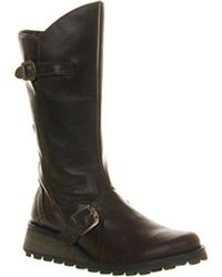 Fly London - Fly Mes Wedge Calf Boots - Lyst