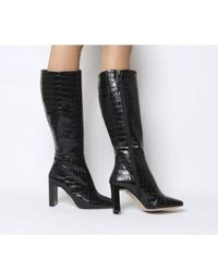 Office - Kobra-set Back Heel Knee Boot - Lyst