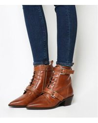 Office - Ambassador Lace Up Boots - Lyst