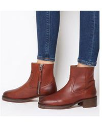 Office - Ashford- Unlined Block Heel Boot - Lyst
