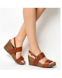 Office - Mandalay Cork Wedge - Lyst
