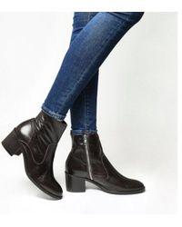 Office - Albury- Unlined Block Heel Boot E - Lyst