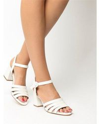 df5f669fefc Lyst - Office Whirlwind Block Heel Sandal in Green