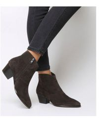 Ash - Heidi Bis Ankle Boot - Lyst