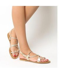 Office - Spritz- Asymmetric Plait Sandal - Lyst