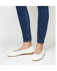 Office - Fanatic Round Toe Flats - Lyst