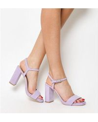Office - Hazzard Slim Platform Sandal - Lyst