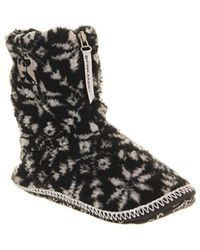 Bedroom Athletics - Jessica Slipper Boots - Lyst