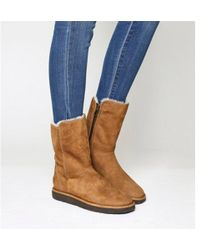 UGG - Classic Lux Abree Short - Lyst
