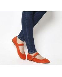 Office - Fussy Square Toe Mary Jane - Lyst