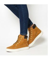 784b882abf82 Lyst - Timberland Londyn 6 Quot  Women s Shoes (high-top Trainers ...