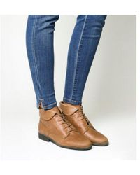 Office - Alice- Lace Up Vintage Boot - Lyst