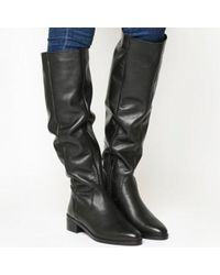 Office Kove Flat Slouch Boot Lyst