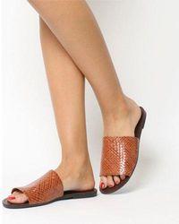 Vagabond - Tia Woven Sandal - Lyst