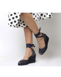 Office - Marmalade Espadrille Wedges - Lyst