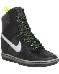 Nike - Dunk Sky Hi Trainer Boots - Lyst