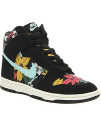 Lyst - Nike Women S Dunk High Skinny Premium Casual Sneakers From ... 5db3068a5ef4