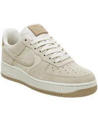 da0cbdbb90b516 Lyst - Nike Air Force 1 07 Lv8 Suede in Gray