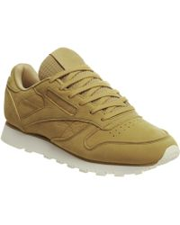 Reebok - Classic Leather Trainers - Lyst 51ba8614d