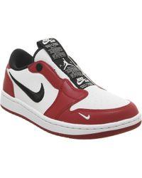 019a914c1c2 Nike - Air Jordan 1 Low Slip On Trainers - Lyst