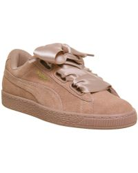 PUMA - Suede Heart Trainers - Lyst