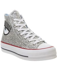 Converse - All Star Lift Hi Trainers - Lyst
