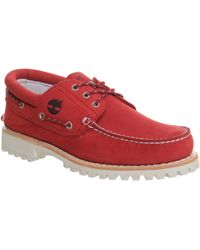 Timberland - Lug Boat Shoes - Lyst