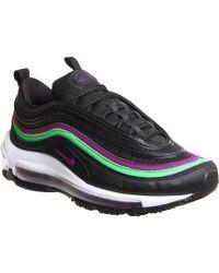Lyst - Nike Air Max 97 Premium Sneakers in Black 304f28090