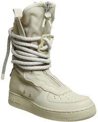 370ba02af4e2cb Nike Sf Air Force 1 Hi Ibex in White - Lyst
