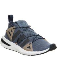 Adidas arkyn formatori in grigio per gli uomini lyst