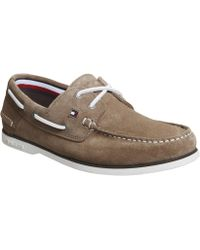 Tommy Hilfiger - Classic Boat Shoes - Lyst