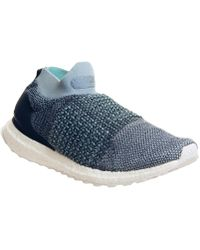 4c4013b64e0 adidas Ultraboost Laceless Sneakers in Blue for Men - Lyst