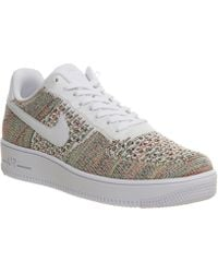 the best attitude 2a406 a9c15 Nike - Air Force 1 Low Flyknit Trainers - Lyst